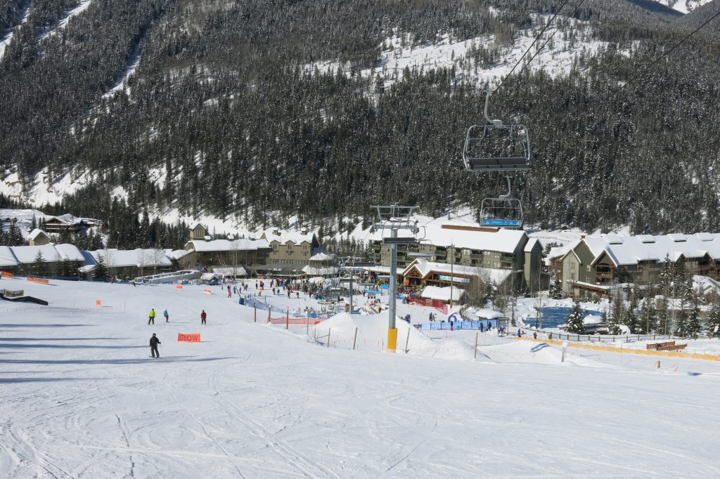 Base Village at Panorama, February 2018