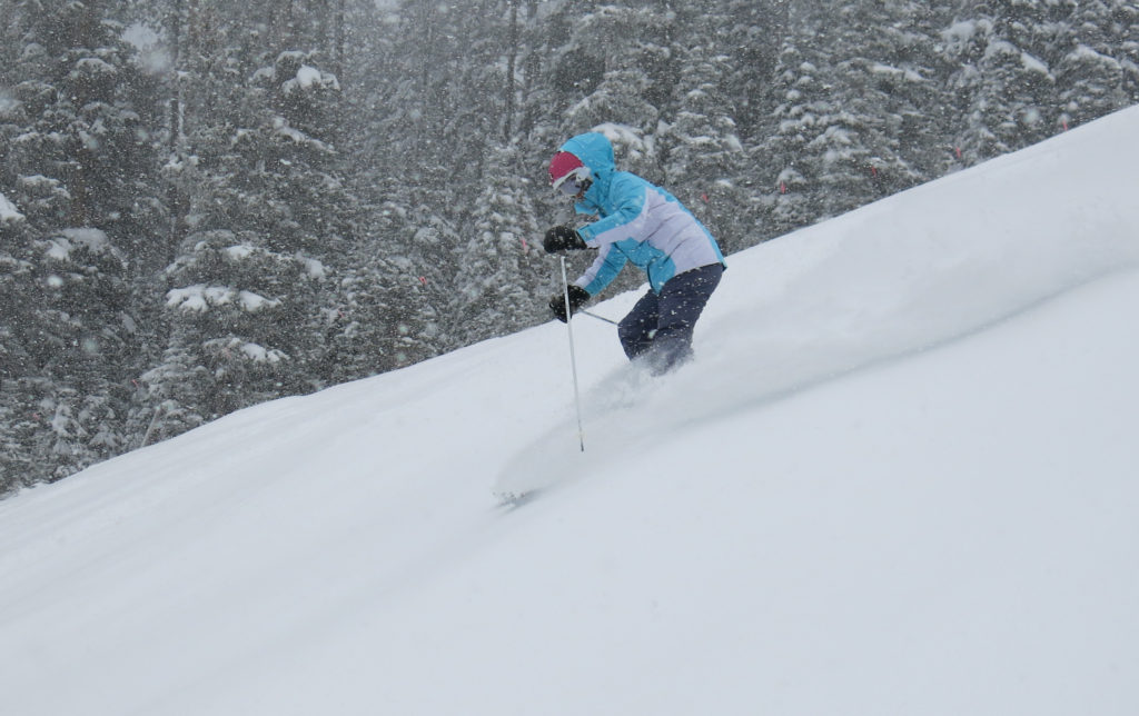 Ski North America 100: Some nice powder at Vail, December 2018
