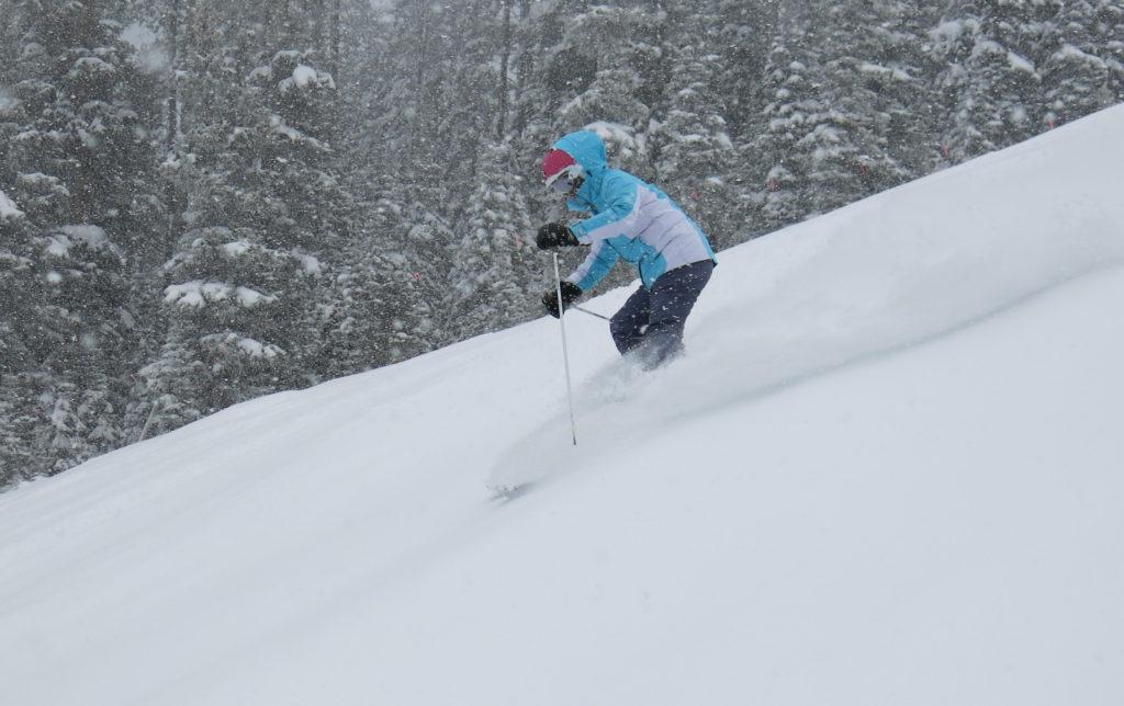Ski North America 100: Some nice powder at Vail, December 2018