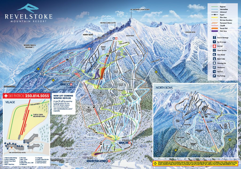 Revelstoke Trail Map 2018/2019