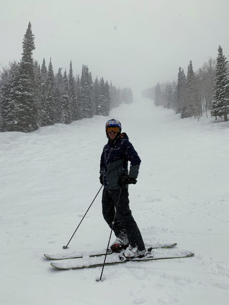 Snowing again at Park City, March 2019