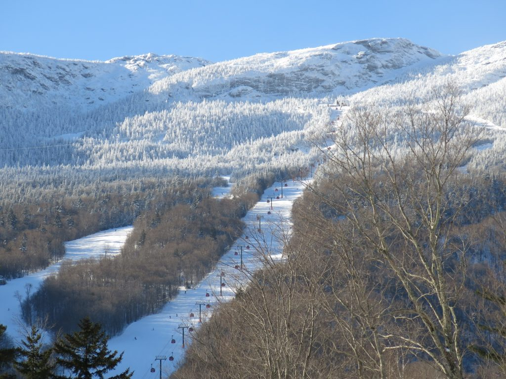 The Gondola at Stowe, January 2019