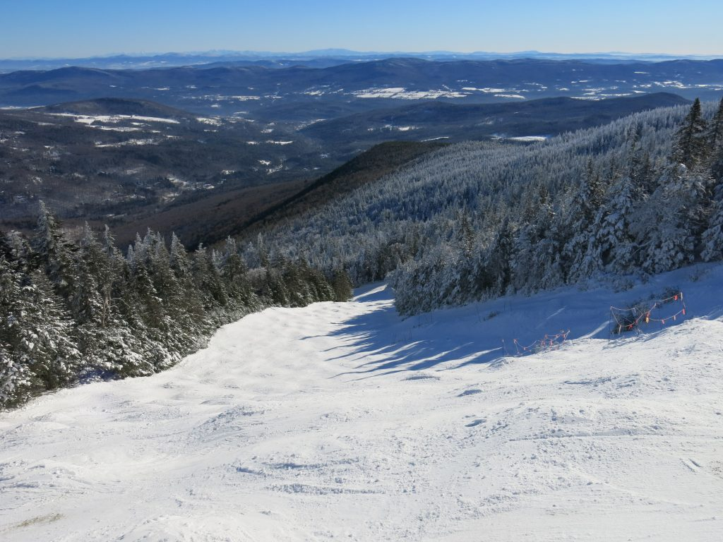 Catamount Bowl at Mad River Glen, January 2019