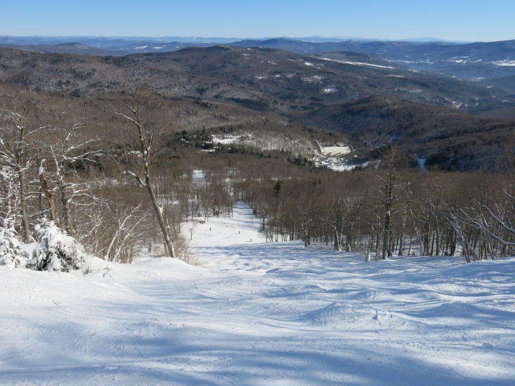 Slalom Hill at Mad River Glen, January 2019