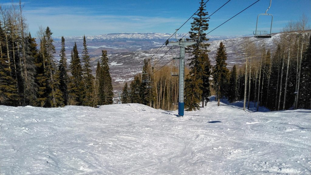 """Diversion"" and the West-End lift at Powderhorn, February 2019"