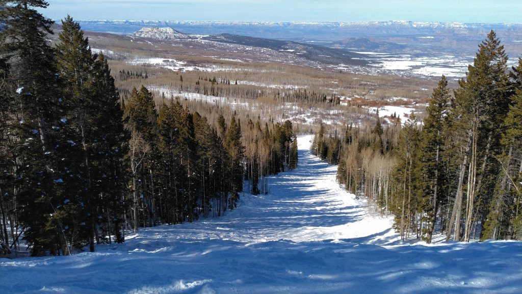 Another empty beautiful run at Powderhorn, February 2019