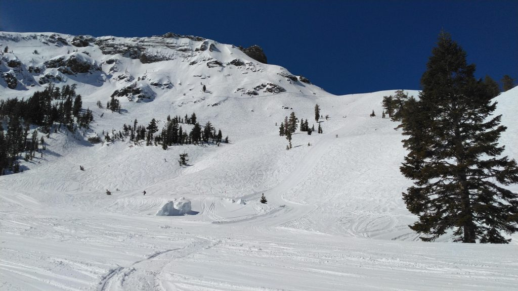 A fun day at Kirkwood, March 2019
