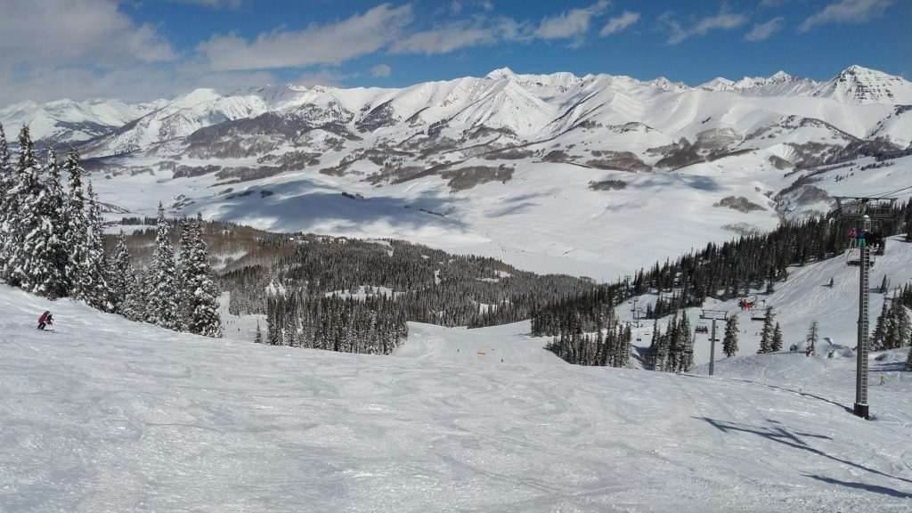 Paradise Bowl at Crested Butte, March 2019