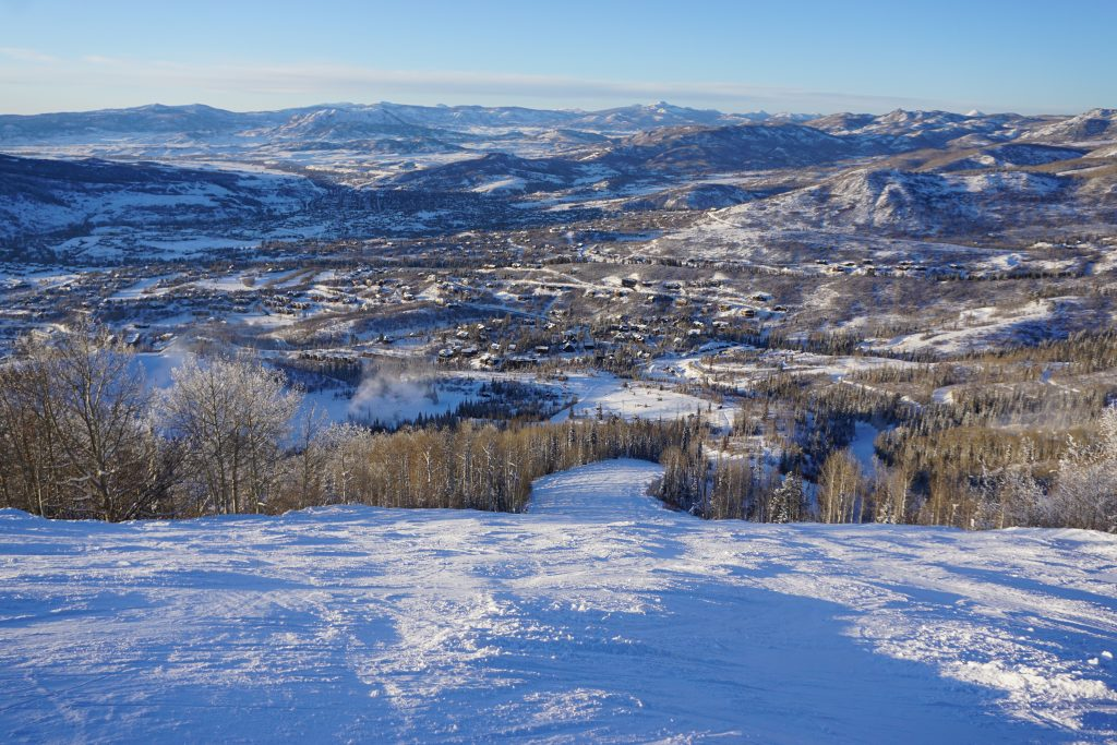 Ted's Ridge at Steamboat, December 2019