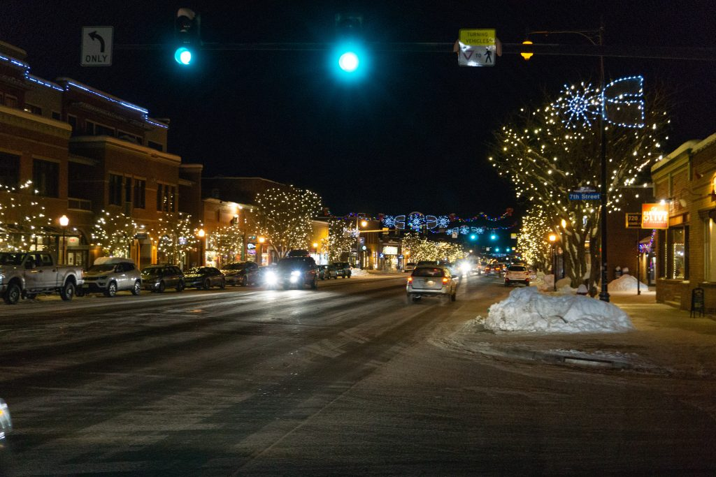 Downtown Steamboat Springs, December 2019