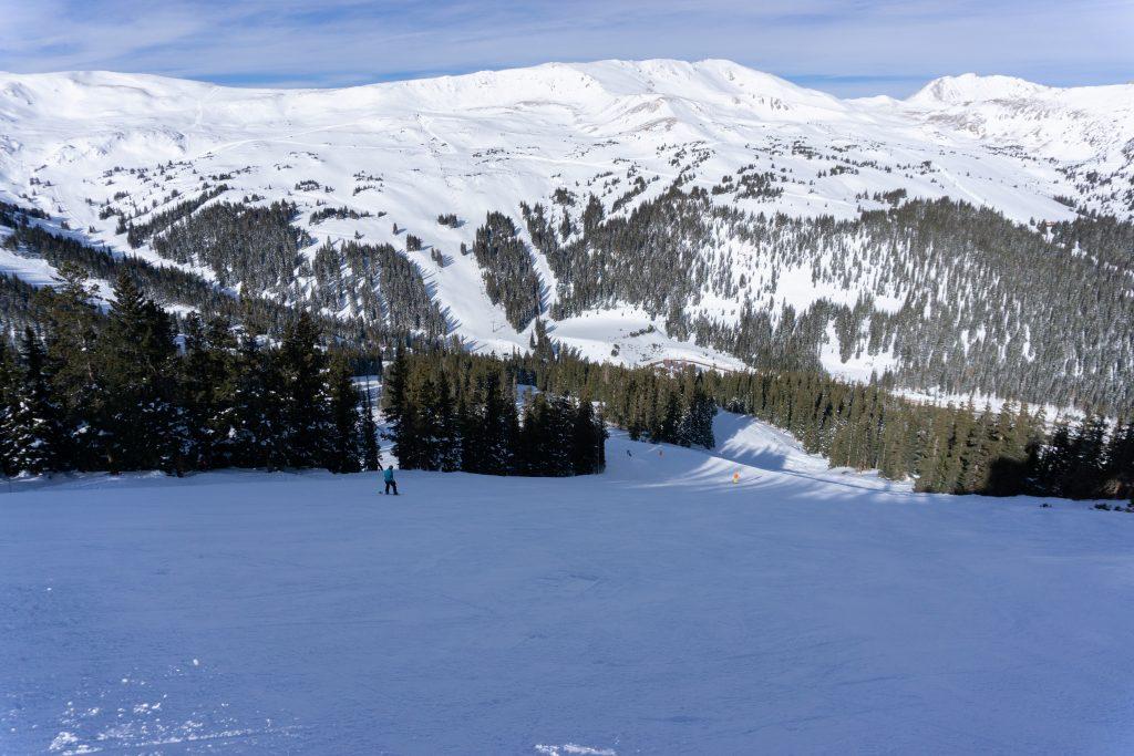 Views from top of Chet's Dream lift at Loveland, December 2019