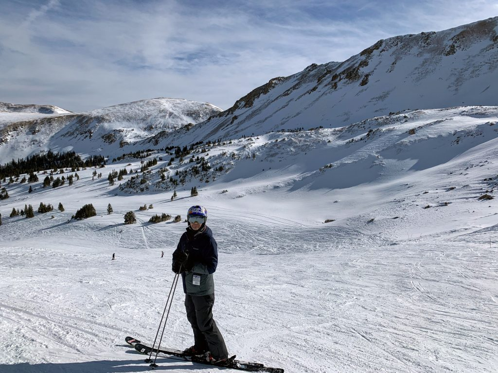 Above treeline at Loveland, December 2019