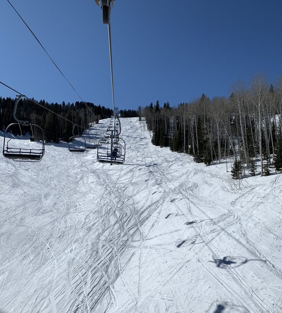 Marge's Triple at Beaver Mountain, February 2020