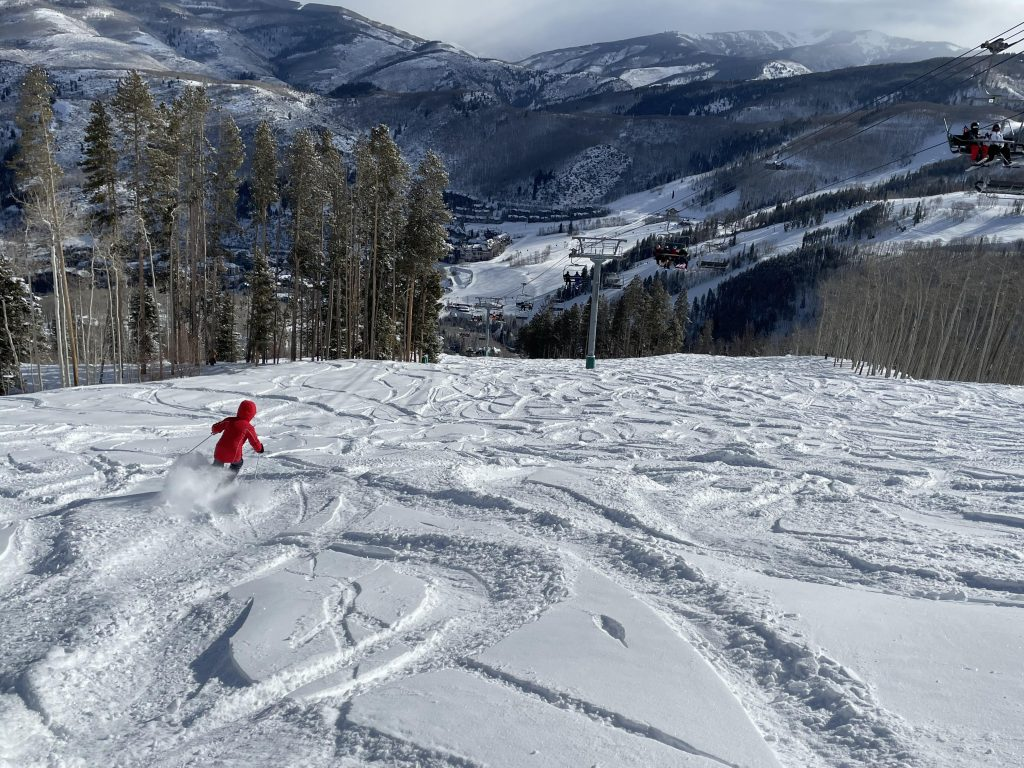 Beaver Creek powder day, February 2021